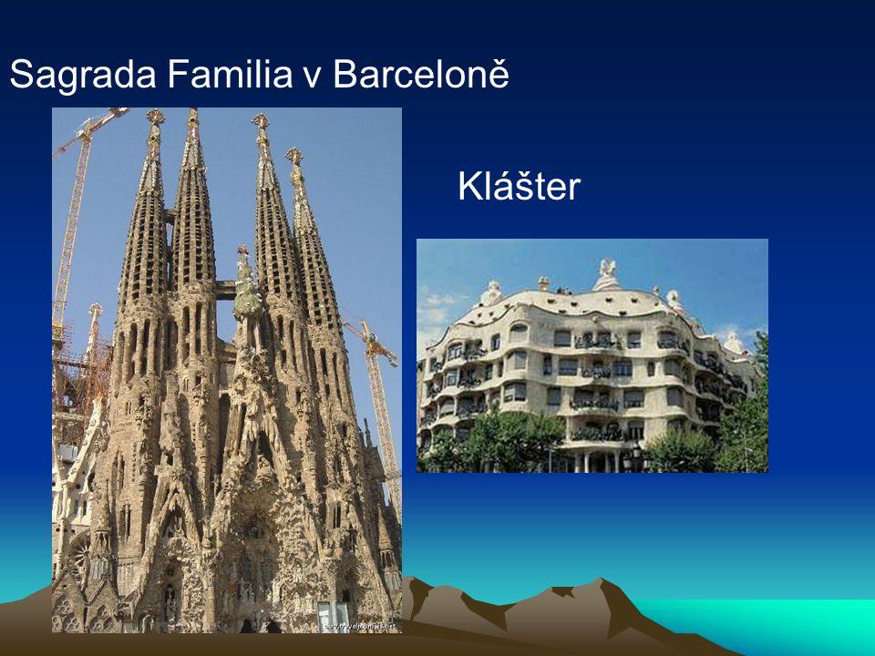 Sagrada Familia v Barceloně