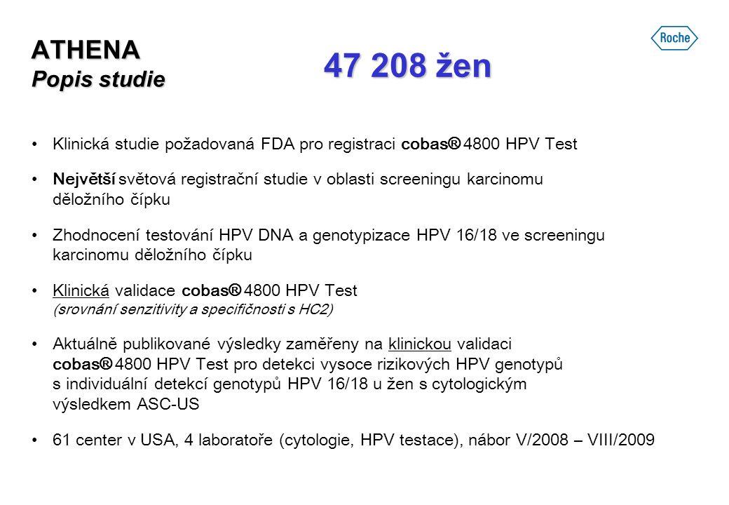 47 208 žen ATHENA Popis studie
