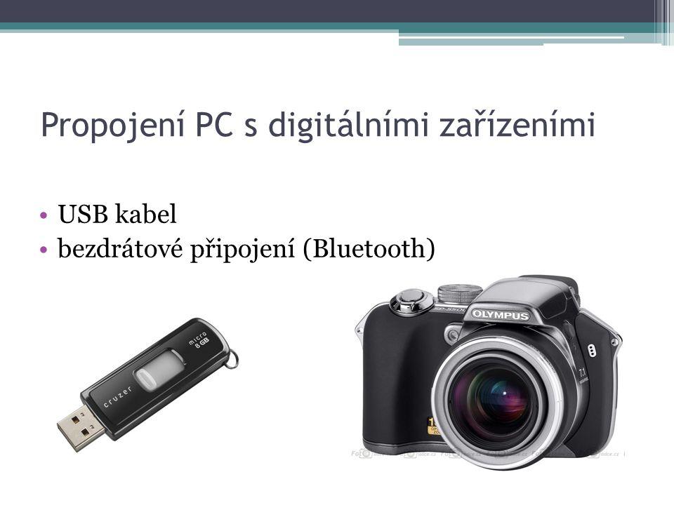 Propojení PC s digitálními zařízeními