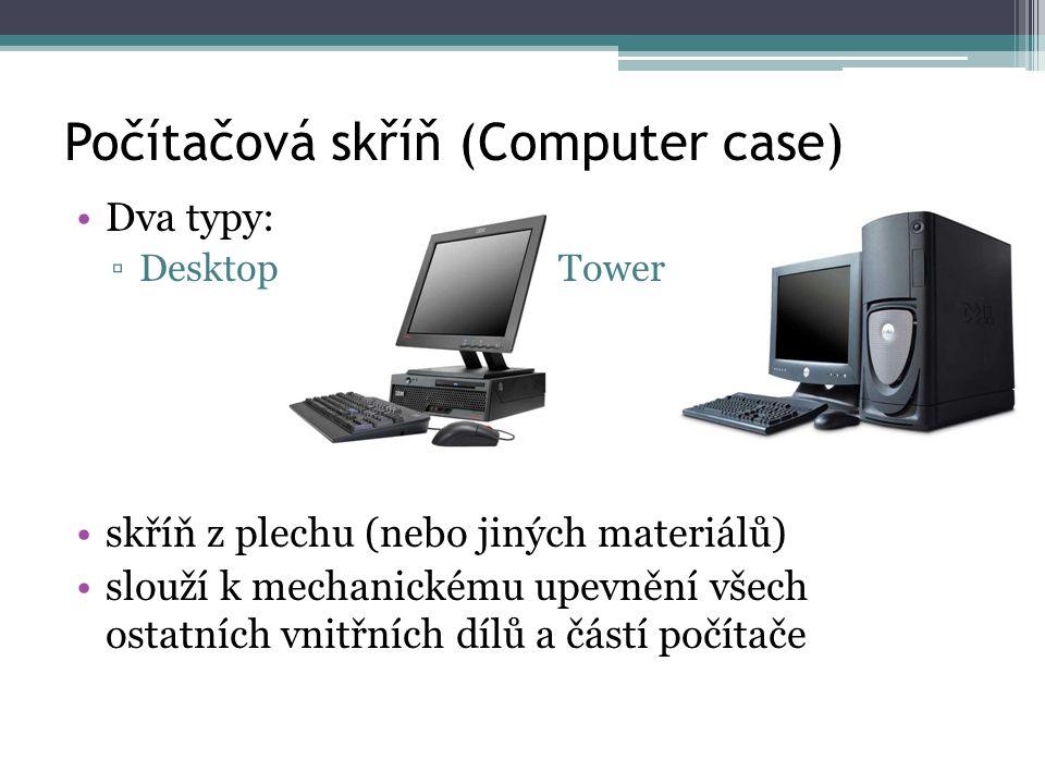 Počítačová skříň (Computer case)