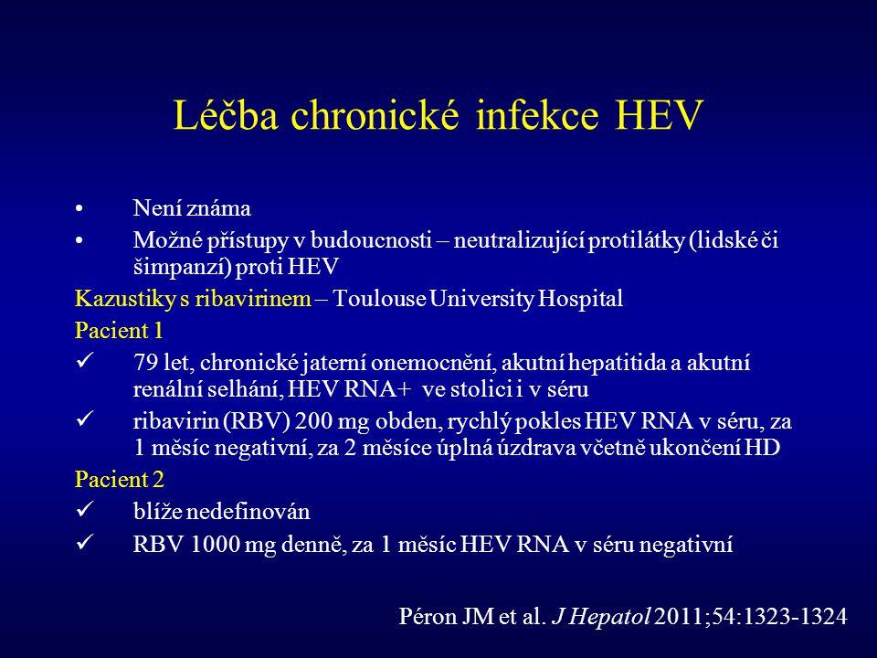 Léčba chronické infekce HEV