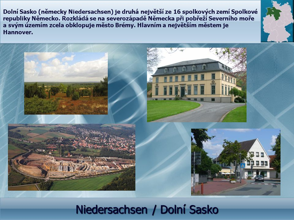 Niedersachsen / Dolní Sasko