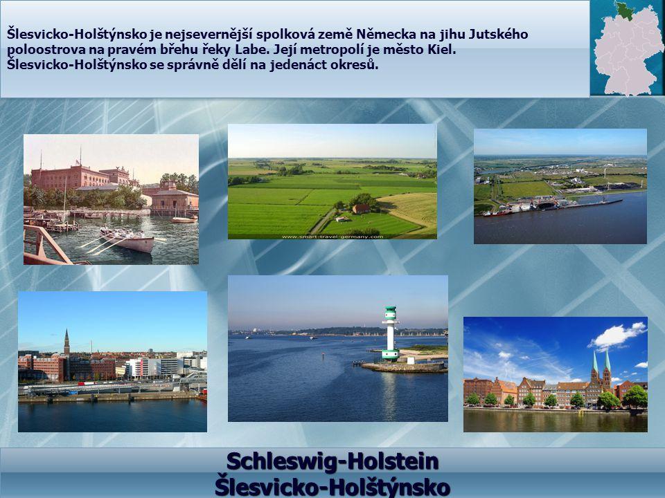 Schleswig-Holstein Šlesvicko-Holštýnsko