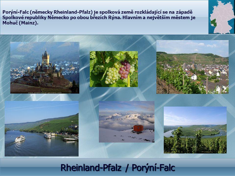 Rheinland-Pfalz / Porýní-Falc