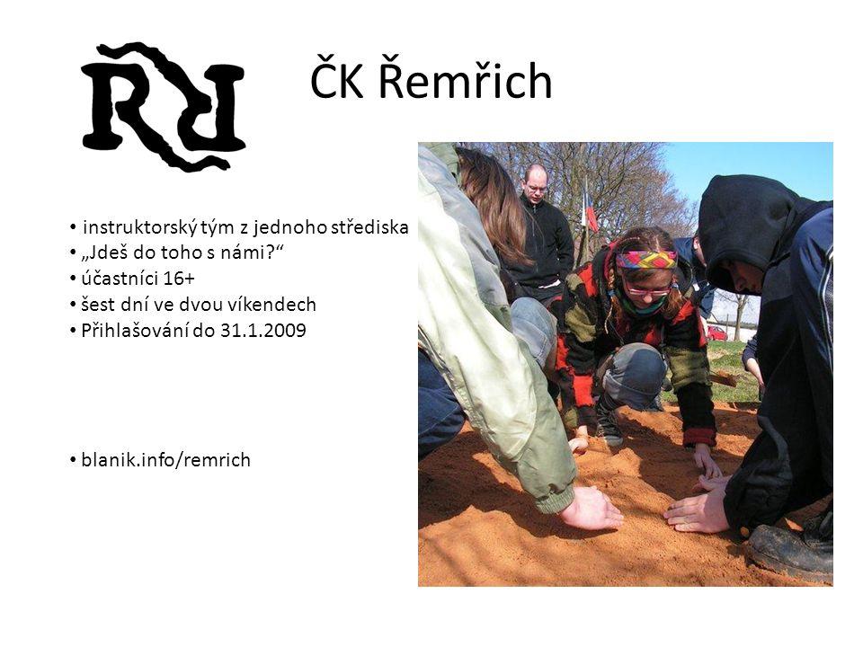 ČK Řemřich instruktorský tým z jednoho střediska