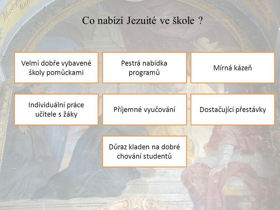 Co nabízí Jezuité ve škole