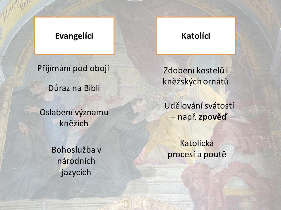 Zdobení kostelů i kněžských ornátů
