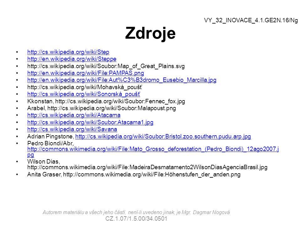 Zdroje VY_32_INOVACE_4.1.GE2N.16/Ng http://cs.wikipedia.org/wiki/Step