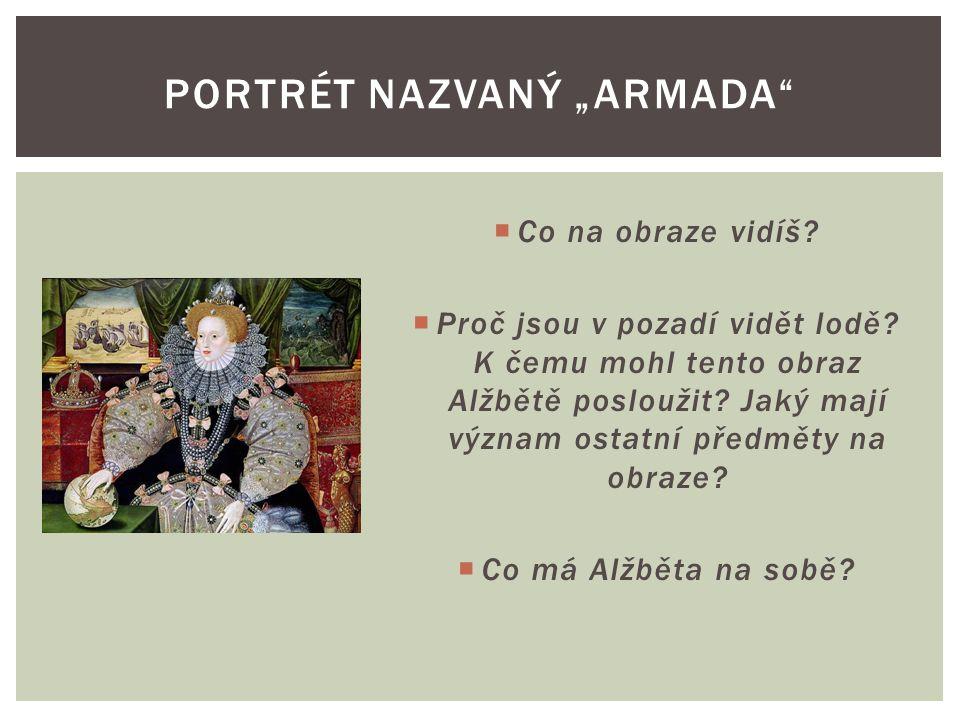 """Portrét nazvaný """"Armada"""