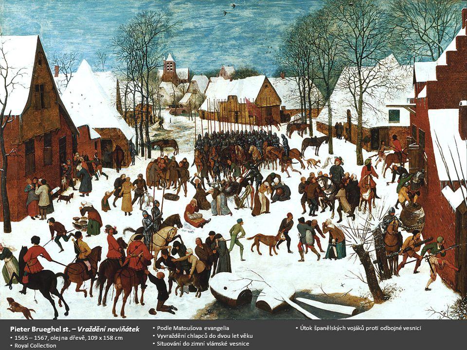 Pieter Brueghel st. – Vraždění neviňátek