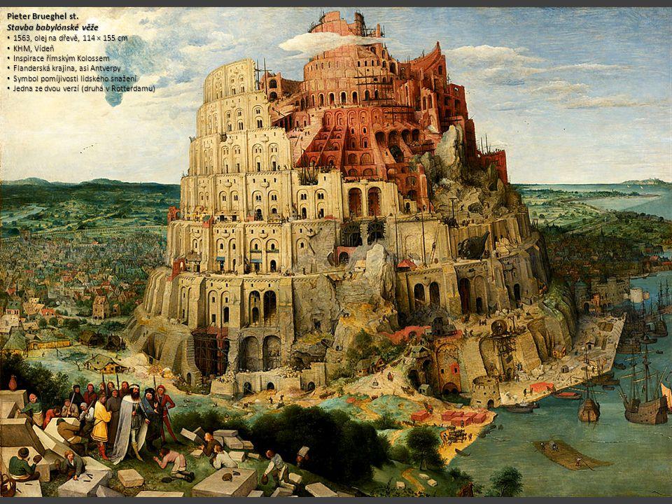 Stavba babylónské věže