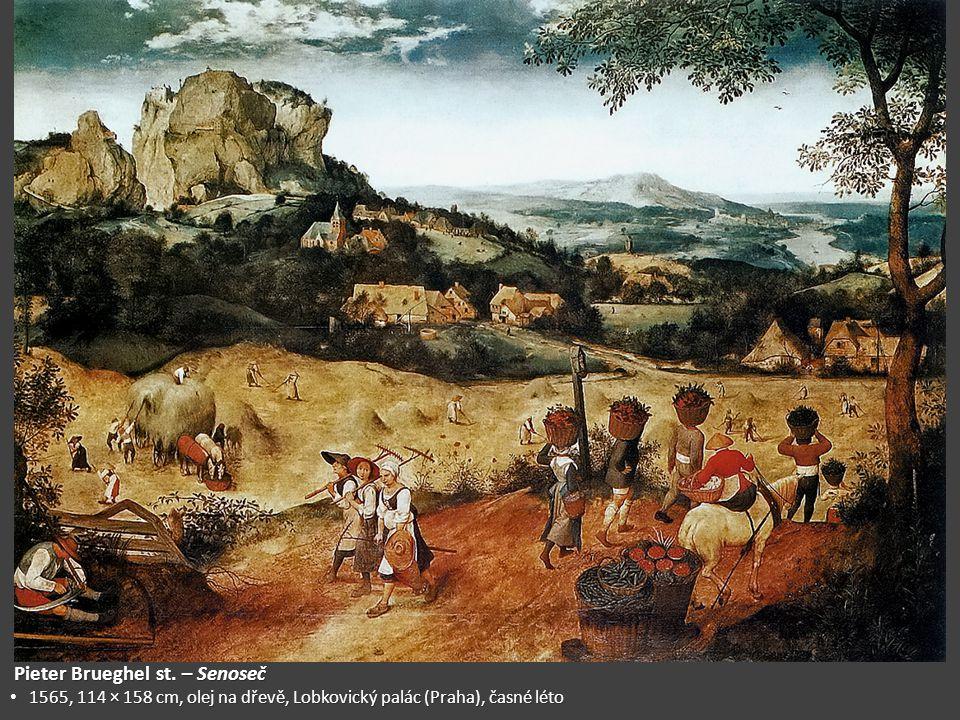 Pieter Brueghel st. – Senoseč
