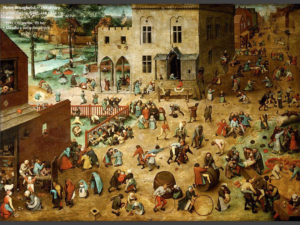 Pieter Brueghel st. – Dětské hry