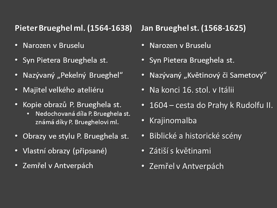 1604 – cesta do Prahy k Rudolfu II. Krajinomalba