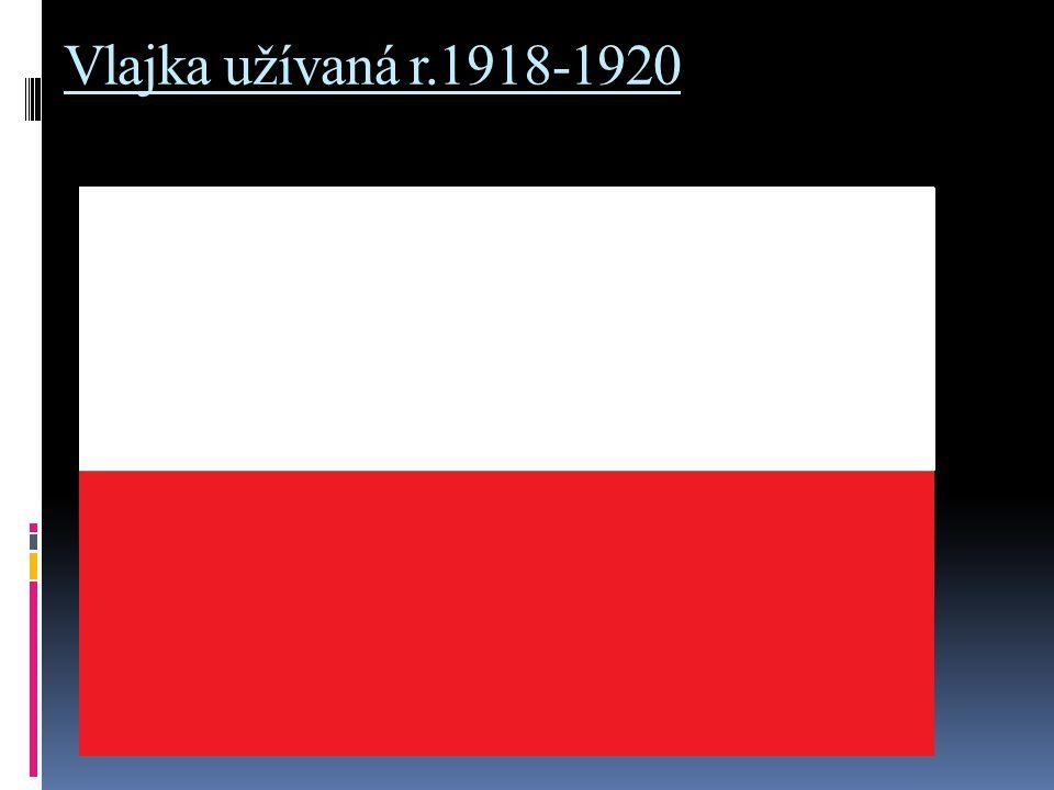 Vlajka užívaná r.1918-1920