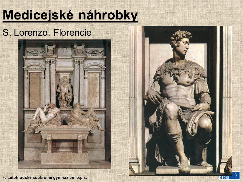 Medicejské náhrobky S. Lorenzo, Florencie