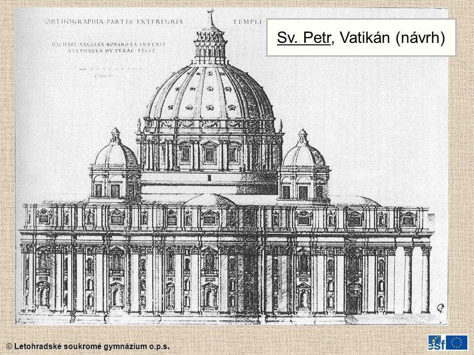 Sv. Petr, Vatikán (návrh)
