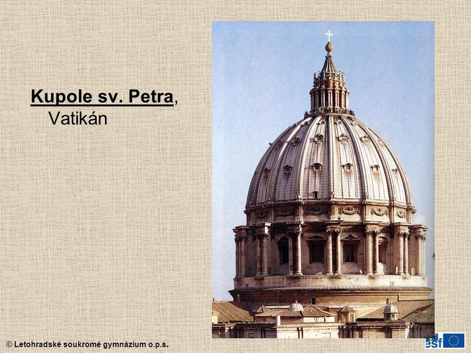 Kupole sv. Petra, Vatikán