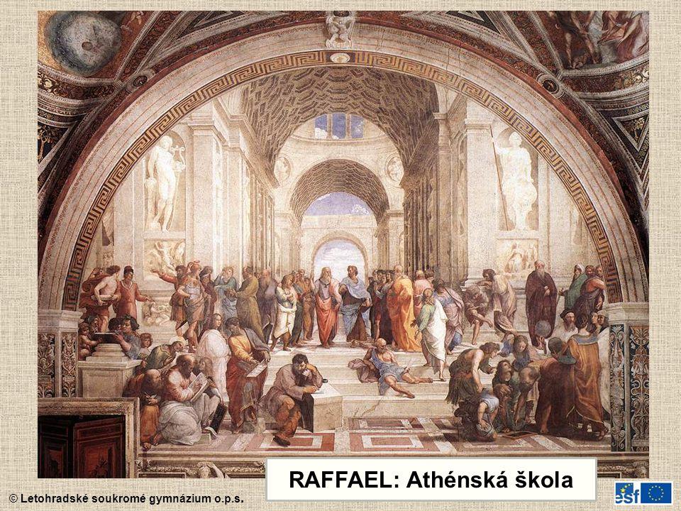 RAFFAEL: Athénská škola