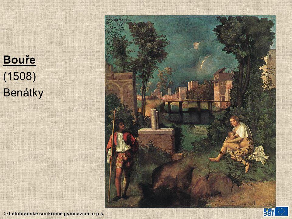 Bouře (1508) Benátky