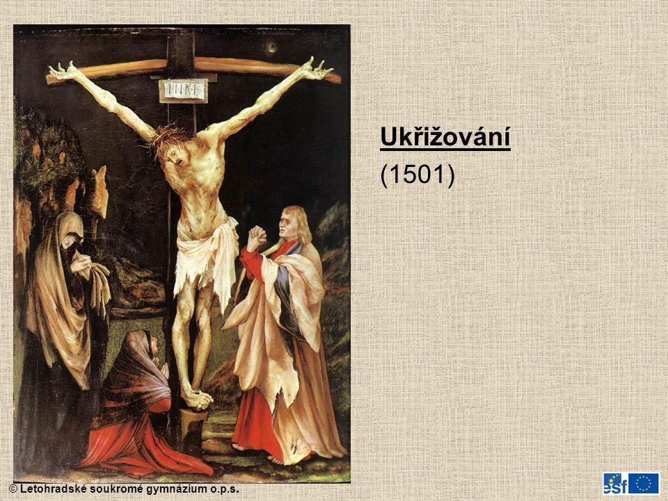 Ukřižování (1501)