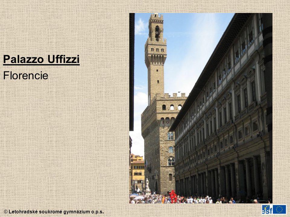 Palazzo Uffizzi Florencie