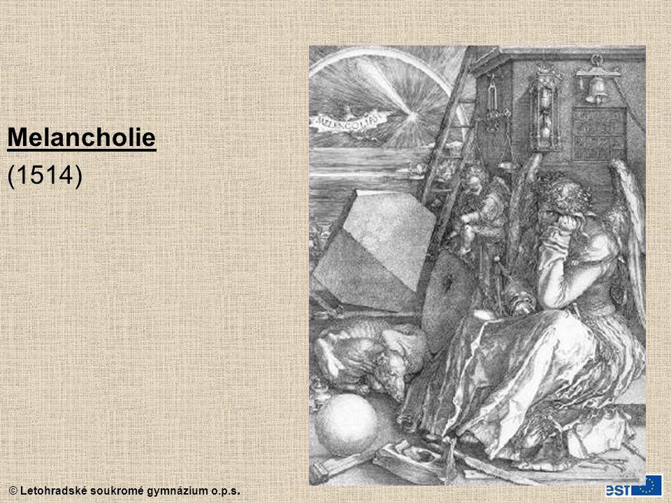 Melancholie (1514)