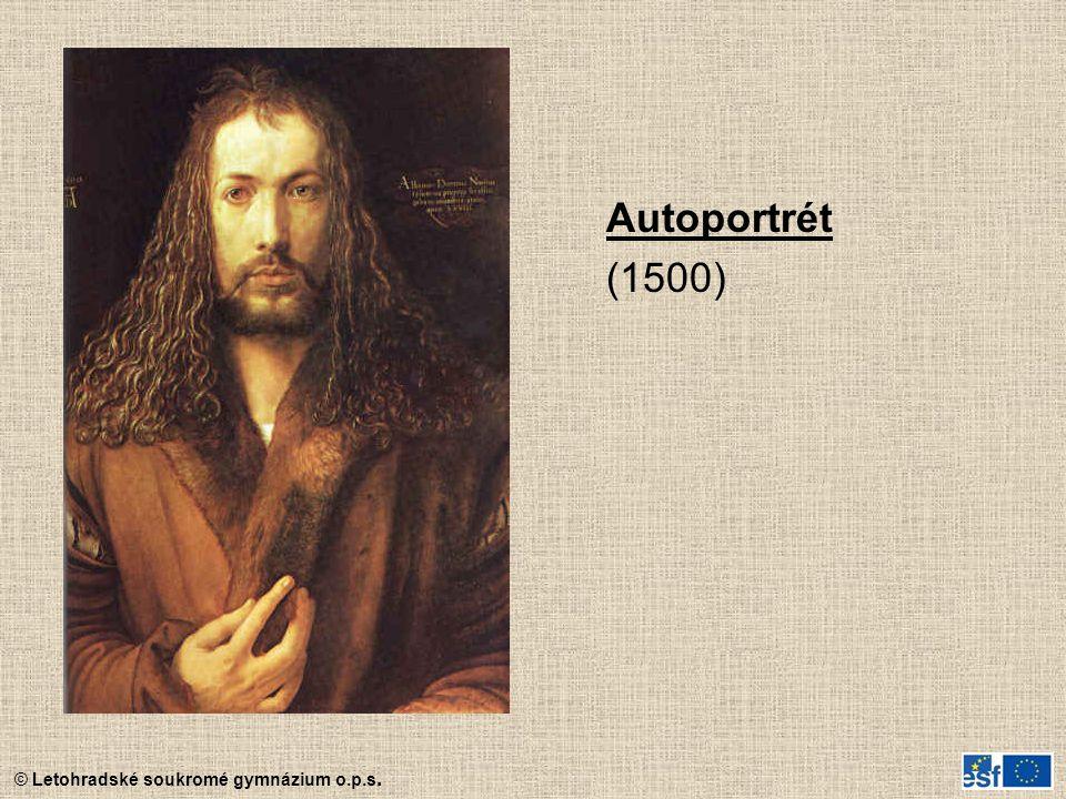 Autoportrét (1500)
