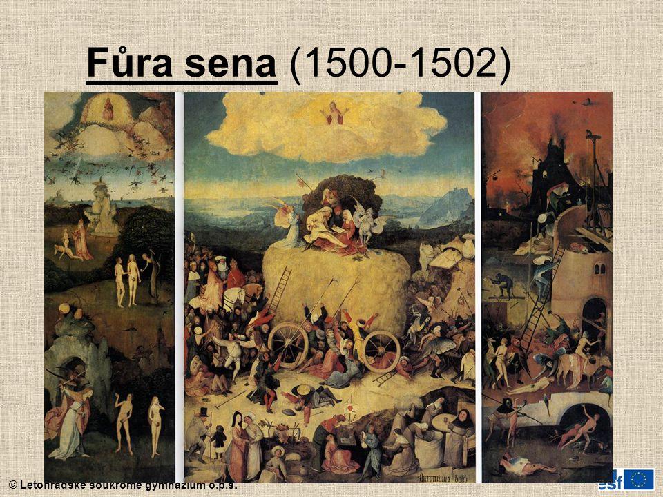 Fůra sena (1500-1502)
