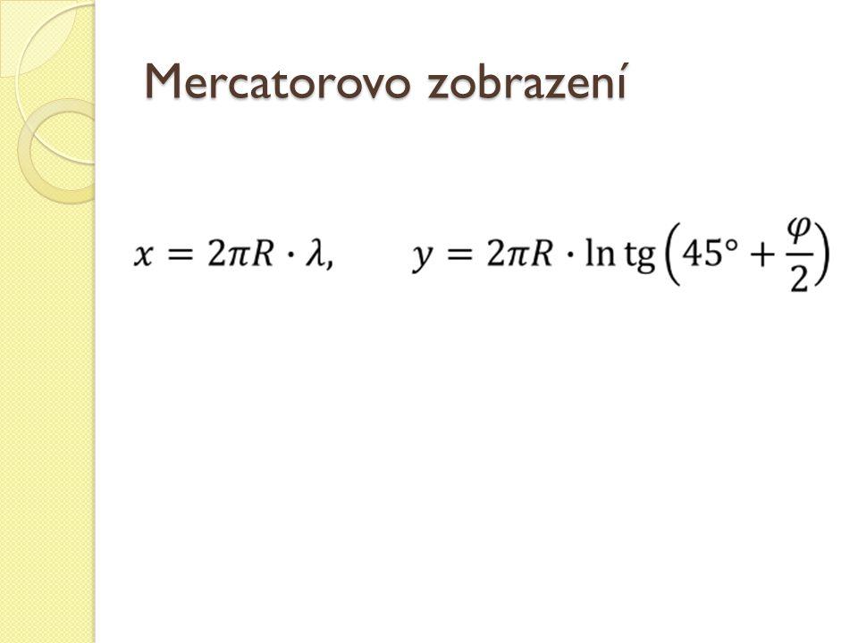 Mercatorovo zobrazení