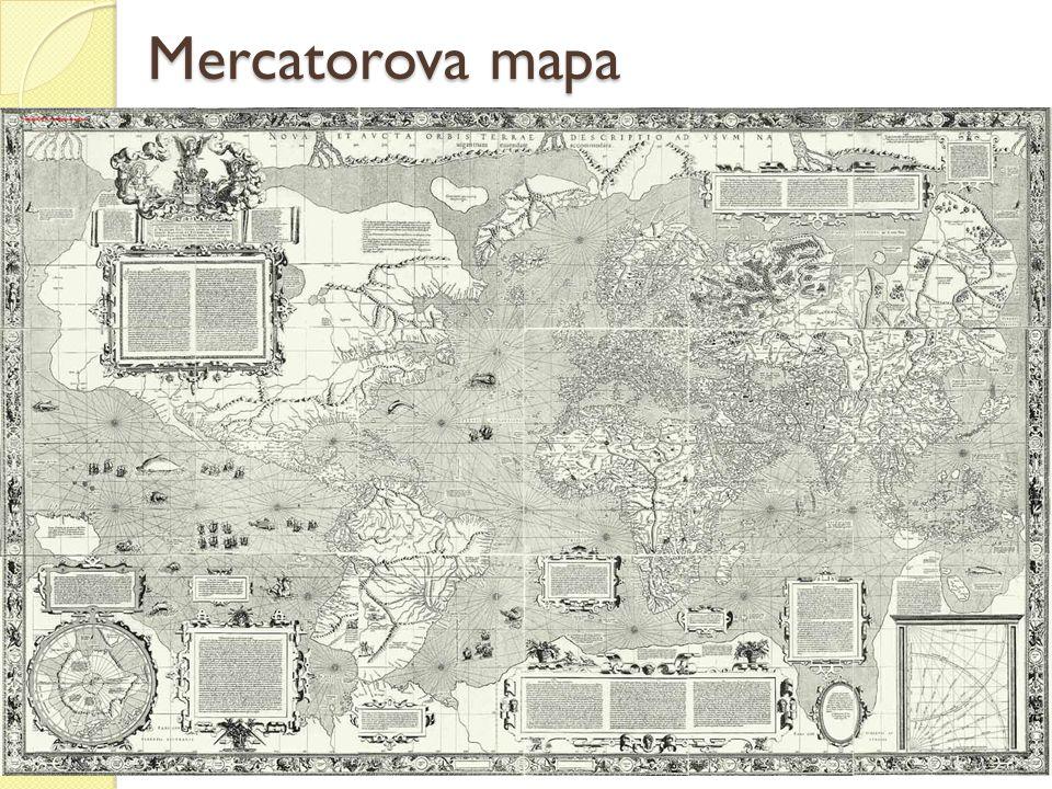 Mercatorova mapa