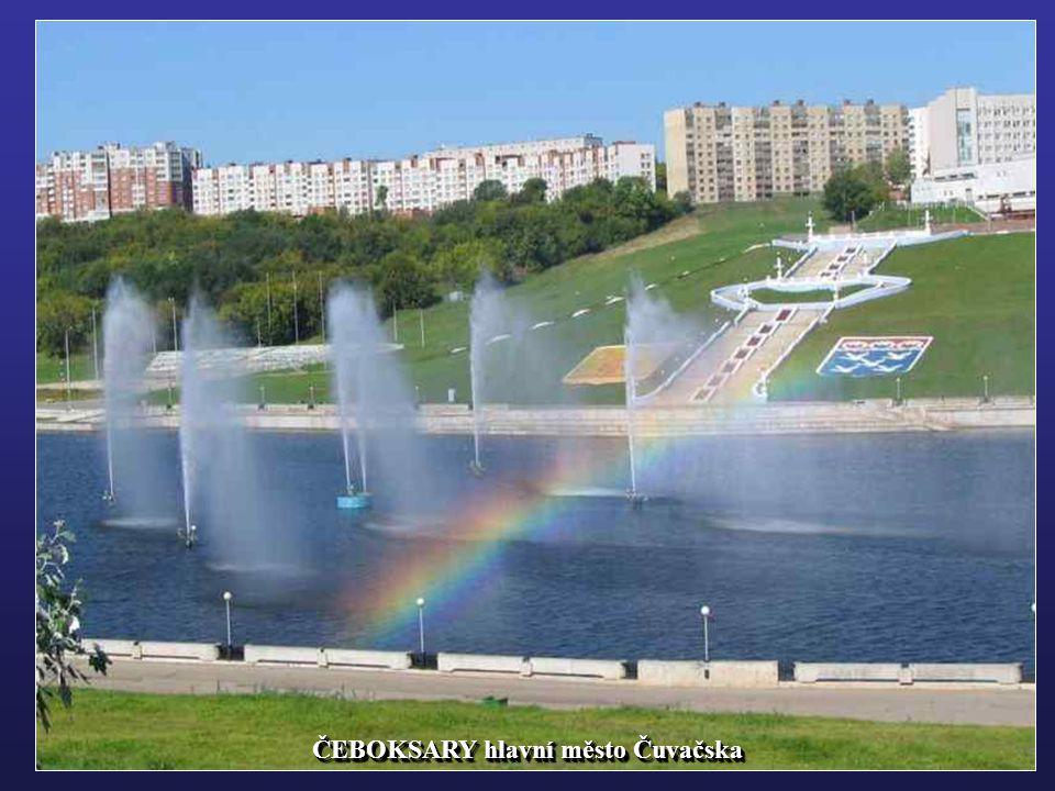 ČEBOKSARY hlavní město Čuvačska