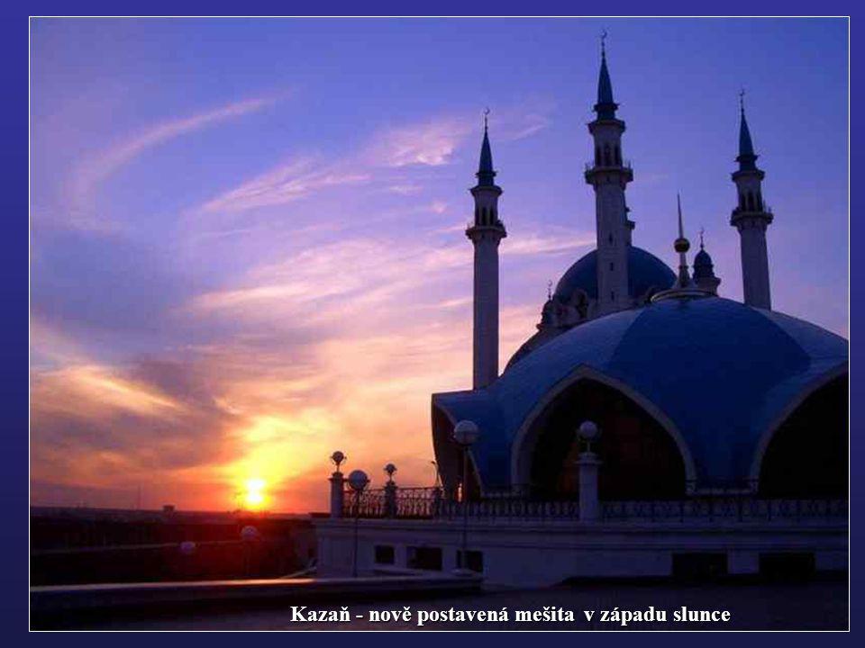 Kazaň - nově postavená mešita