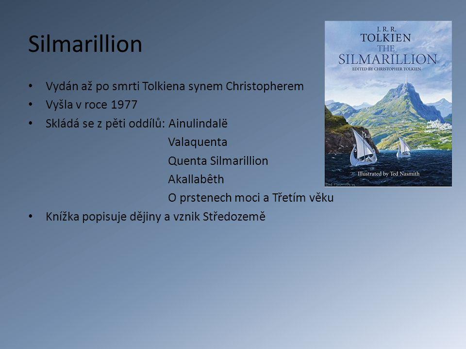 Silmarillion Vydán až po smrti Tolkiena synem Christopherem