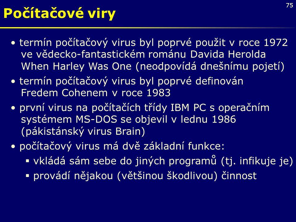Počítačové viry