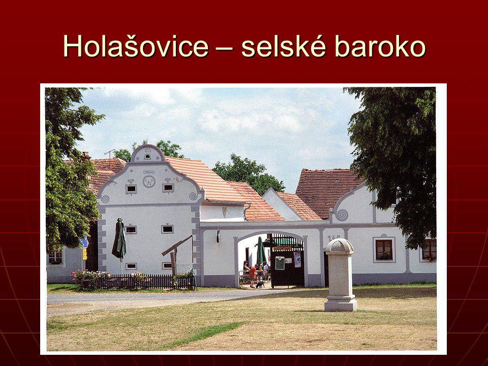 Holašovice – selské baroko