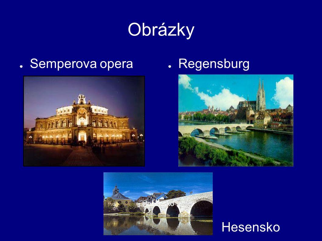 Obrázky Semperova opera Regensburg Hesensko Hesensko