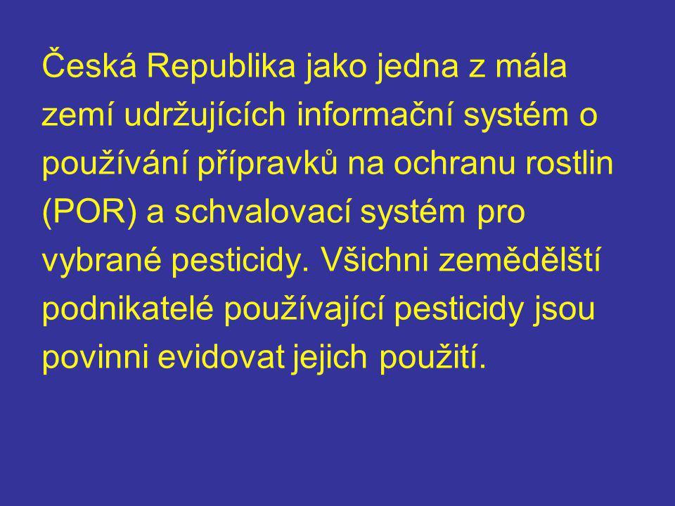 Česká Republika jako jedna z mála