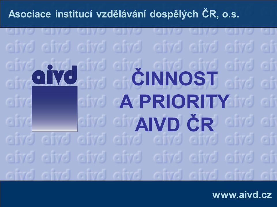 ČINNOST A PRIORITY AIVD ČR