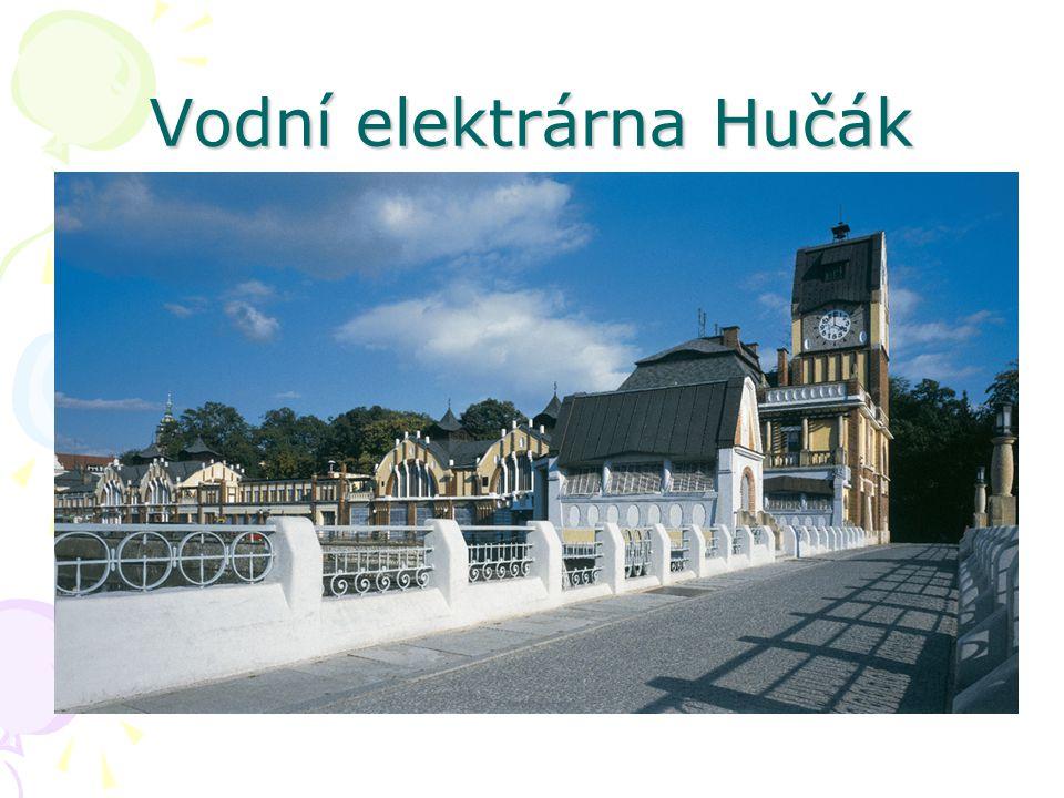 Vodní elektrárna Hučák