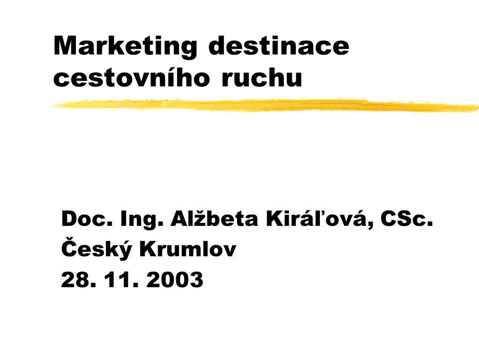 Marketing destinace cestovního ruchu