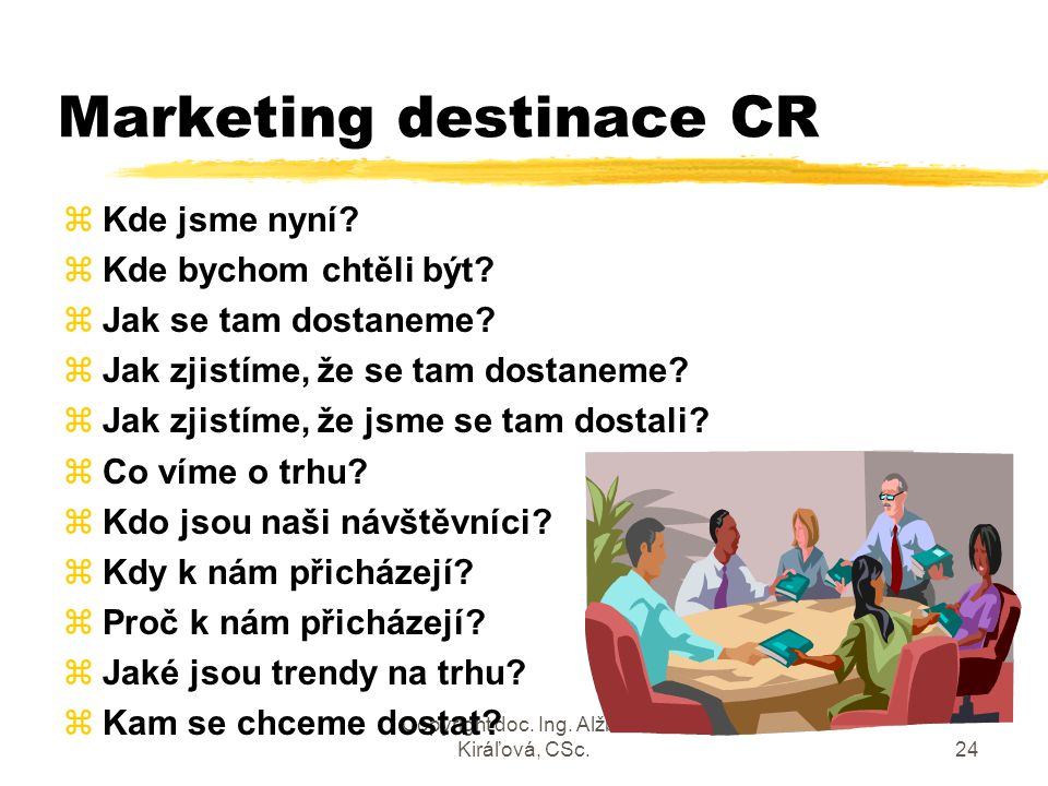 Marketing destinace CR