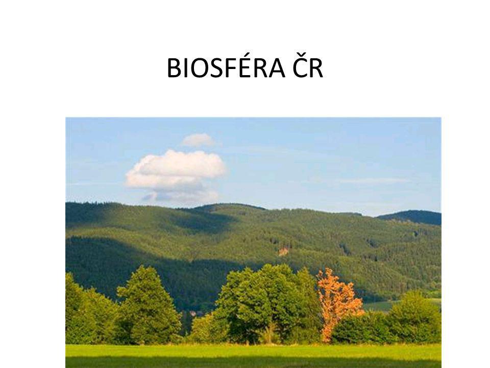 BIOSFÉRA ČR