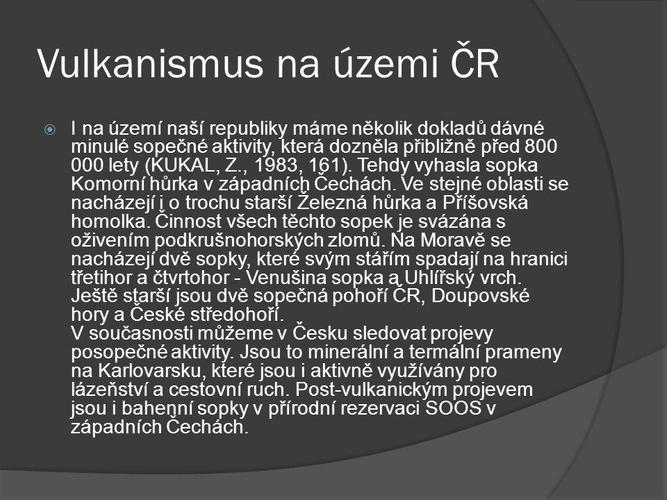 Vulkanismus na územi ČR