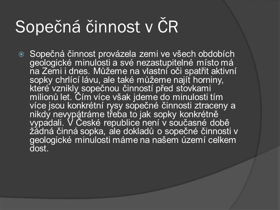 Sopečná činnost v ČR