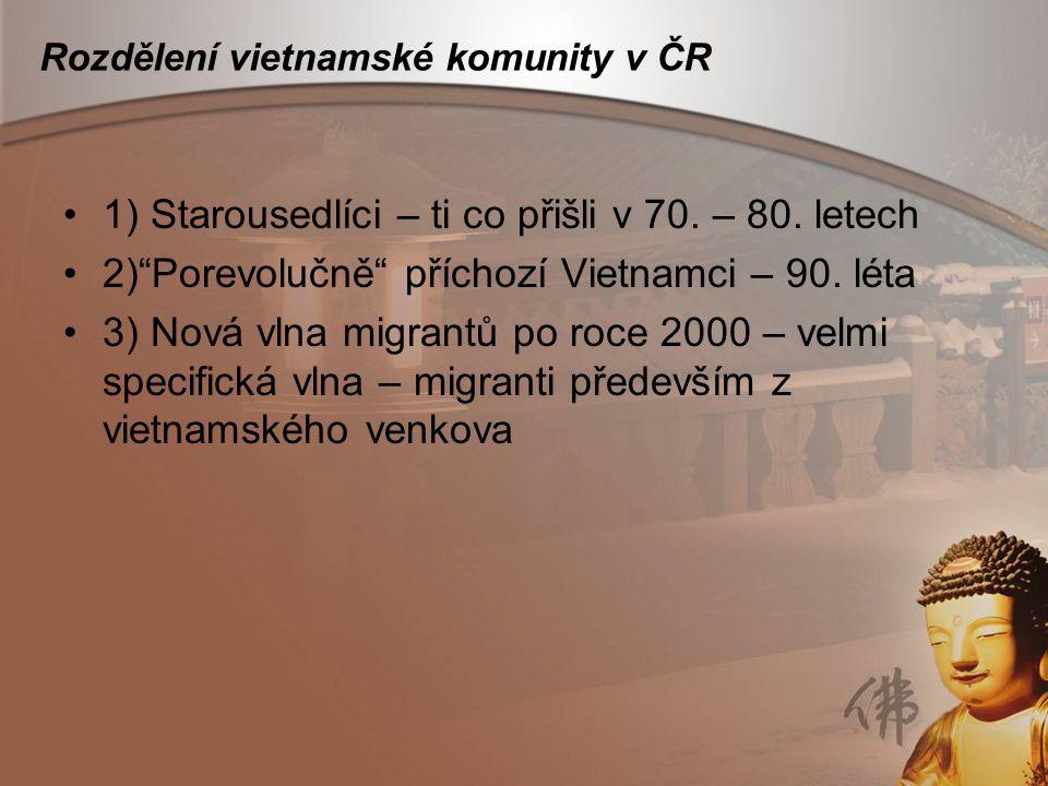 Rozdělení vietnamské komunity v ČR