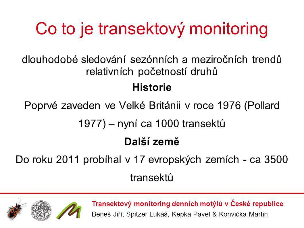 Co to je transektový monitoring