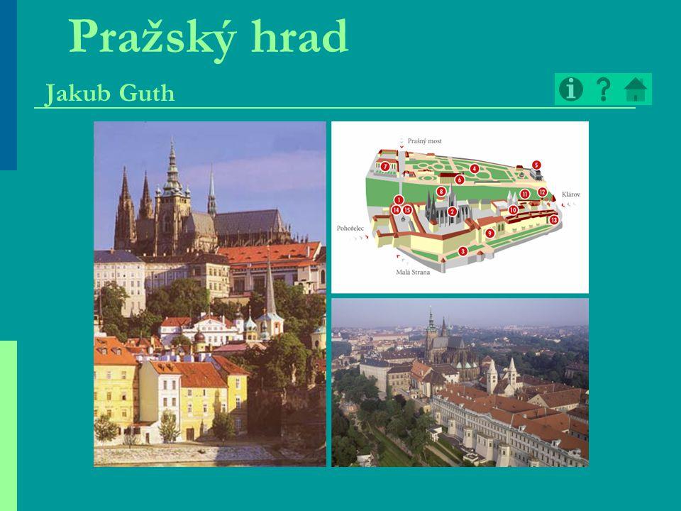 Pražský hrad Jakub Guth