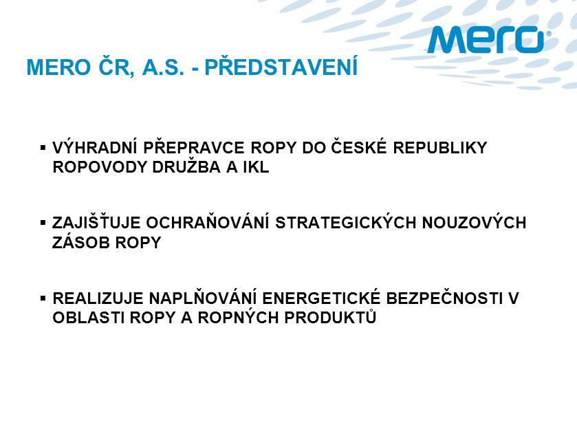 MERO ČR, A.S. - PŘEDSTAVENÍ