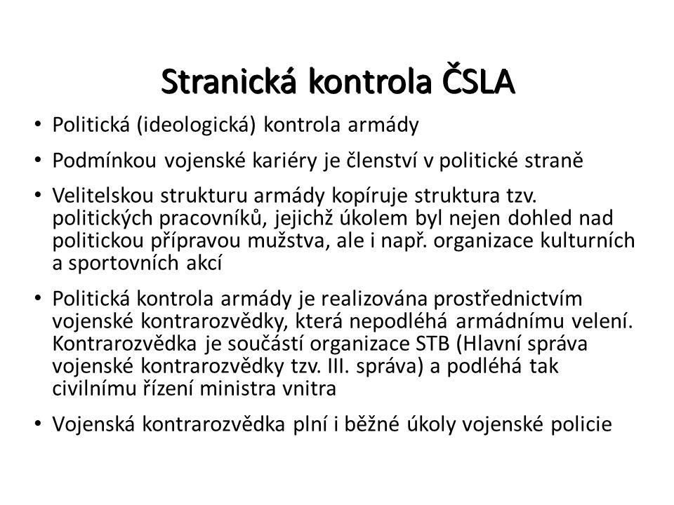Stranická kontrola ČSLA